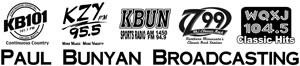 Paul Bunyon Broadcasting station logos 2015